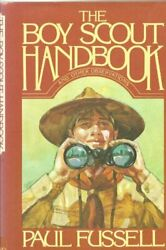 Boy Scout Handbook And Other Observations By Fussell, Paul Hardback Book The