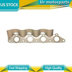 1 Exhaust Pipe Flange Gasket Bosal Usa Fit Hyundai Accent 2000-2002