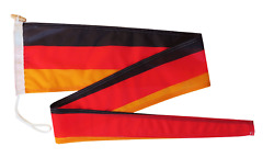 Germany Flag Pennant Streamer With Rope And Toggle - Various Sizes