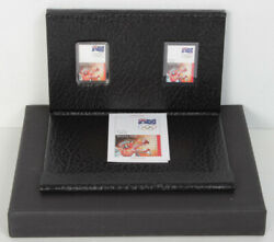 Australia 2008 50c 999 Silver Coinandstamp Set Beijing Olympic Games In Pp Münze