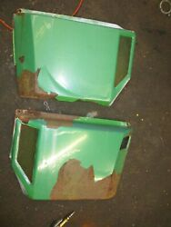 John Deere 316 318 Side Cover Panels Solid Rust And Flaked Paint Am39171 Am39170