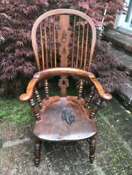 19th Century Antique English Windsor Chair