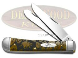 Case Xx Trapper Knife Racoon Wildlife Series Antique Bone 1/500 Stainless Knives