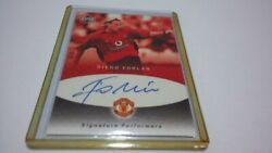 06242003 Upper Deck Mini Playmakers Diego Forlan Signatures Performers Auto