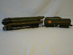Williams Canadian National O Gauge Streamlined 4-8-4 Steam Engine And Tender