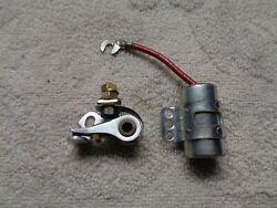 Oem Nos H-d Aermacchi Points And Condenser C H Ss Sx 250 350