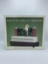 Elvis And The Gates Of Graceland Mccormick Decanter Music Box In Original Box