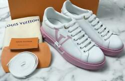 Authentic Louis Vuitton 2021 Ss Time-out Line Sneaker