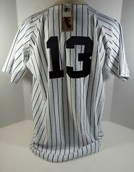 New York Yankees Alex Rodriguez 13 Authentic White Jersey Russell Nwt 52 4