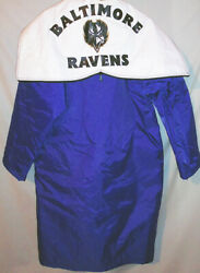 Rare -baltimore Ravens Marching Band- Nfl Football Game Used Uniform Coat