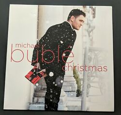 Michael Buble - Christmas Exclusive Limited Edition Solid Red Colored Vinyl Lp