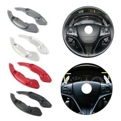 2x Steering Wheel Shift Paddle Extension Shifter Fits Honda Accord Acura Cdx