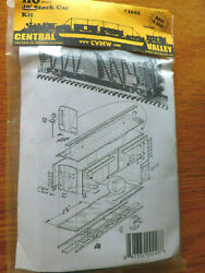 Central Valley Ho 1001 40' Stock Car Kit Plastic New Product 187th Scale