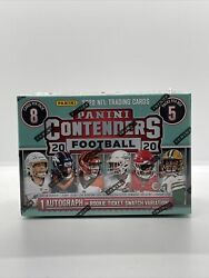 2020 Panini Contenders Nfl Football 40 Trading Card Box-sealed