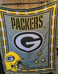 Green Bay Packers Northwest Company Knit Throw Blanket Football