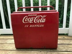 Vintage Coca Cola Cooler Coke Ice Chest- Pre Owned Local Pickup Only