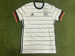 Adidas Germany Home Menand039s Soccer Jersey- 2021/22