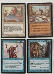 Mtg Magic The Gathering Vintage Mixed Lot Of 25 Cards - Read Full Description .