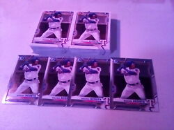Huge 2021 Bowman Maximo Acosta Lot Of 86 Cards 4 Chrome And 82 Paprer Rookies