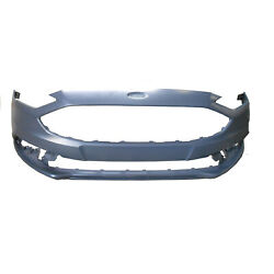 Fo1000718 New Replacement Front Bumper Cover Fits 2017-2018 Ford Fusion