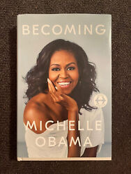 Michelle Obama Becoming Signed Copy