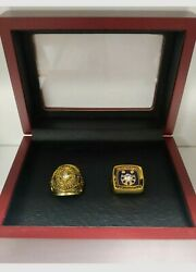 Johnny Unitas - Baltimore Colts Super Bowl 2 Ring Set With Wooden Box