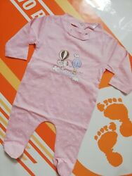 Girls Baby Sleepsuit Pink Snoopy Peanuts Spot Cotton Romper New 1 Month 56 Cm