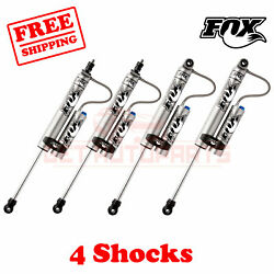 Fox Shocks Front 0-1.5 And Rear 0-1 Lift Fits Ford F250 Superduty 4wd 2008-2010
