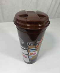 Dunkin Donuts 2018 Expired Refill Tall Hot / Cold 24 Oz Travel Coffee Cup