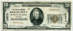 Fr. 1802-1 1929 Ty. 1 20 Ch 12574 National Bank Note New York 12 6/24/21