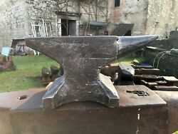 Wonderful Extra Small Forged German Blacksmith Anvil Holthaus 50 Pound