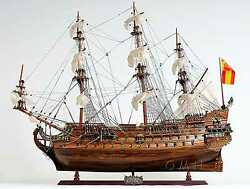Hand Made Wooden Ship Model - San Filipe - Exclusive Edition - Fully Assembled