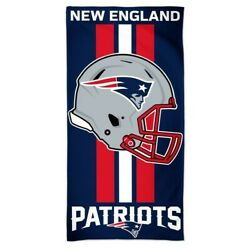 Brand New Nfl New England Patriots Full Size Beach And Home Decor Towel 30 X 60
