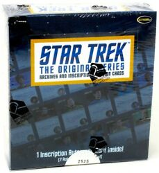 Star Trek The Original Series Archives And Inscriptions 12 Box Case Blowout Cards