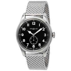 1858 Automatic Black Dial Menand039s Watch 115074