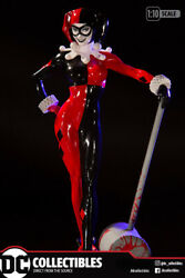 DC Collectibles Harley Quinn Red White and Black Statue by Adam Hughes In Stock