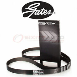 Gates Serpentine Belt For 1990 Plymouth Grand Voyager 3.3l V6 - Accessory Db