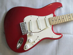 Fender Stratocaster And039and039plusand039and039 1989 - Usa Made - Rare Torino Red.
