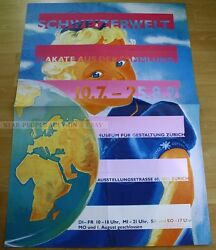 Swiss Exhibition Xxl Serigraph 1991 - World Of Switzerland Posters Collection