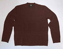 Rrl High Neck Sweater Wool Bordeaux Size M Mens Used Double Rl