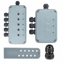 3 Gang /5 Gang Outdoor Remote Switch Box Waterproof Ip66 Electrical Junction Box