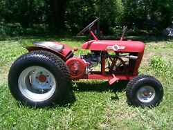 1961 Wheel Horse Tractor And Dump Trailer