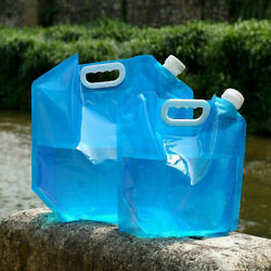 Outdoor Water Bags Foldable Portable Drinking Camp Cooking Picnic Bbq Water Cont