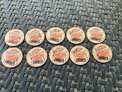 Belleville Illinois Holland Dairy Bottle Caps New Old Stock Lot Of 10