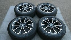 Bmw Oem Factory Original Style 449 X5 And X6 19 Wheel/tire/tpms And Center Caps