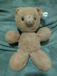 Old Vintage Or Antique Character Novelty Conn Teddy Bear Wind Up Musical Stuffed