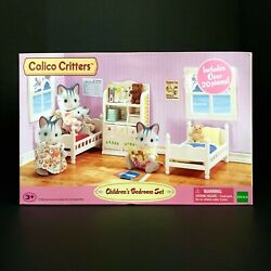 Calico Critters Childrens Bedroom Set White Cc2441 Over 20 Pieces Retired
