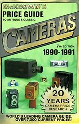 Price Guide To Antique And Classic Cameras 1990-91 Paperback Book The Fast Free