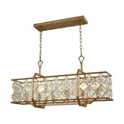 Elk Lighting Armand 6-light Small Chandelier, Gold/clear Crystals - 32095-6