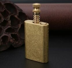Zorro Vintage Brass Pull Ignition Oil Cigarette Lighter Creative Metal Matches